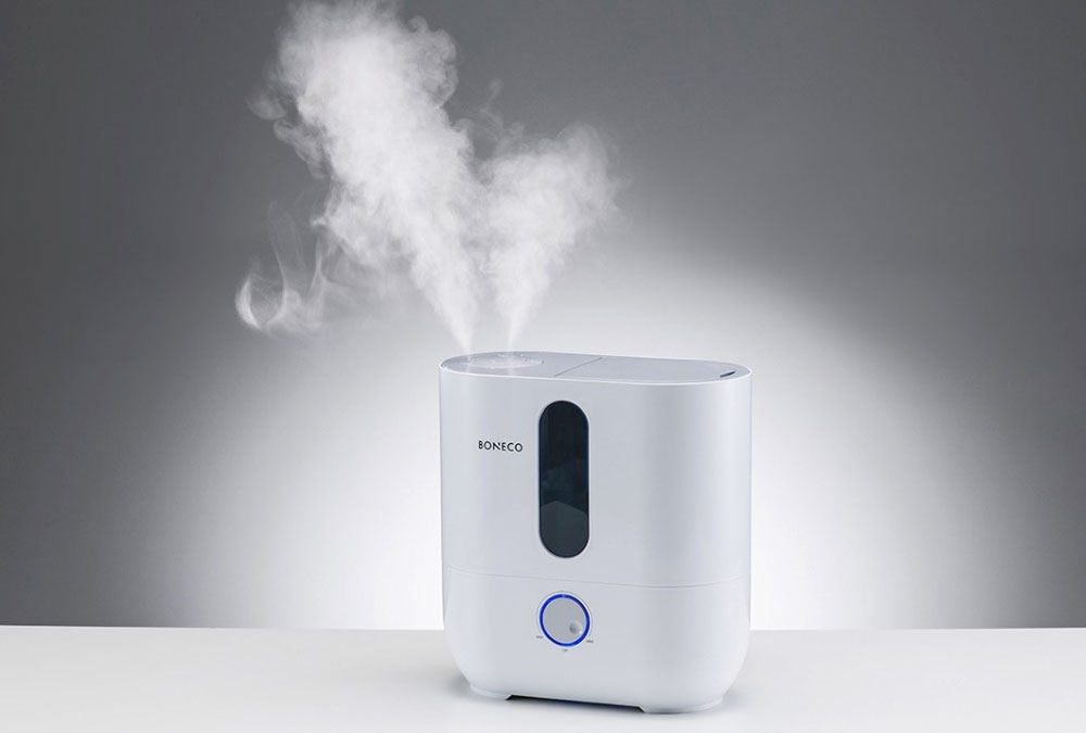 Почистить увлажнитель воздуха от накипи