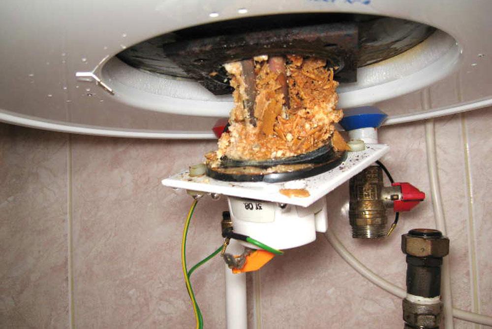Как образуется накипь в водонагревателе