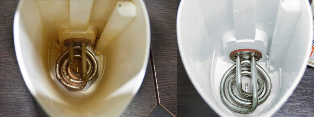 Почему в чайнике образуется накипь