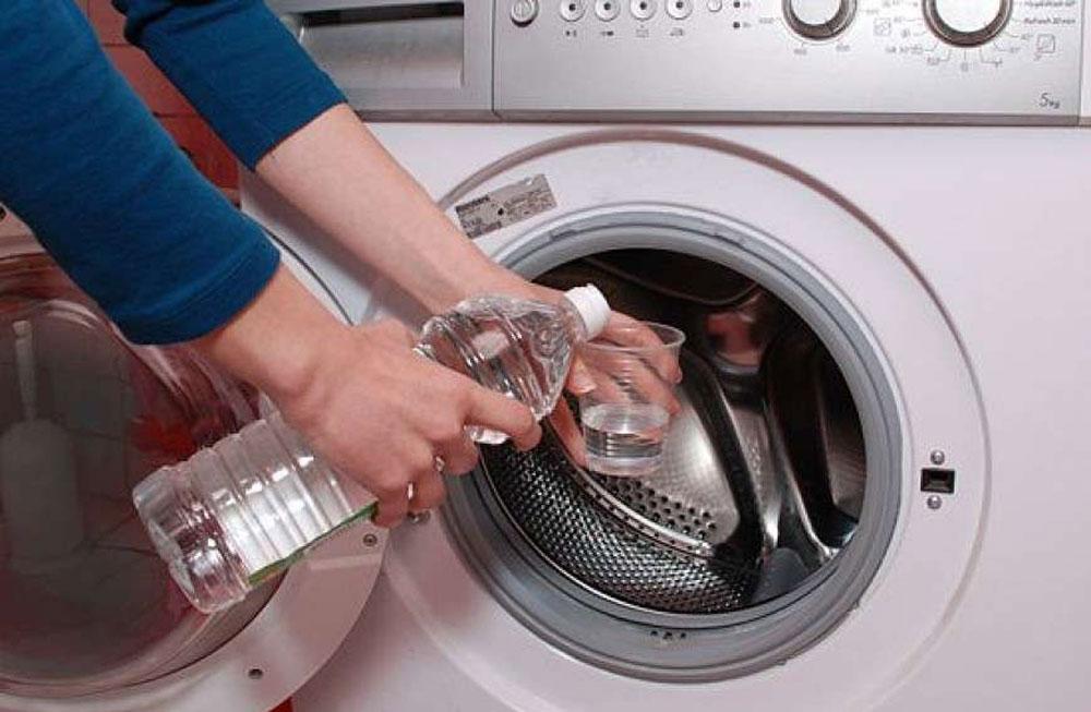 Чистка стиральной машины от накипи уксусом