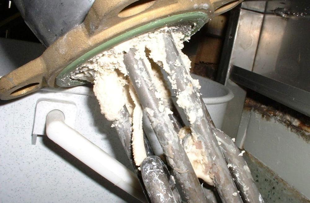 Чистка тэна в бойлере от накипи