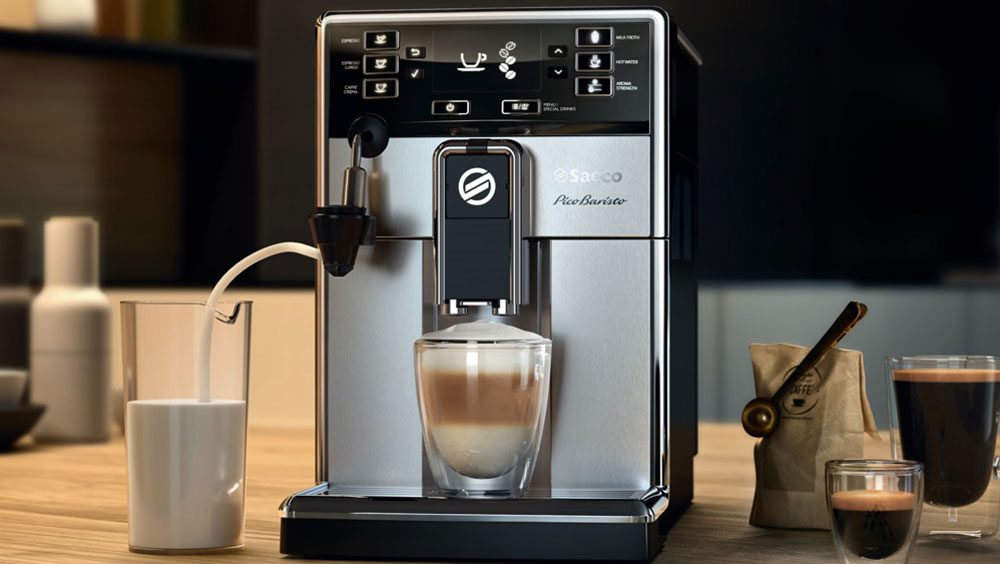 Накипь в кофемашине Saeco