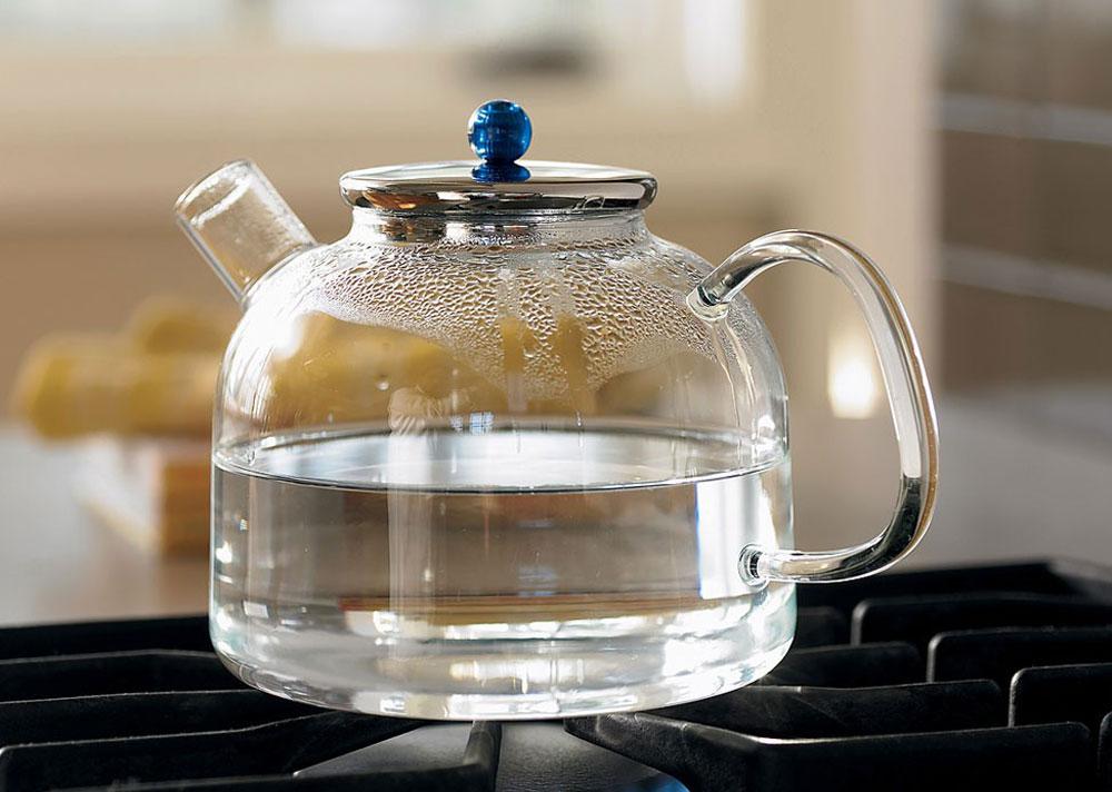 Как удалить накипь из стеклянного чайника