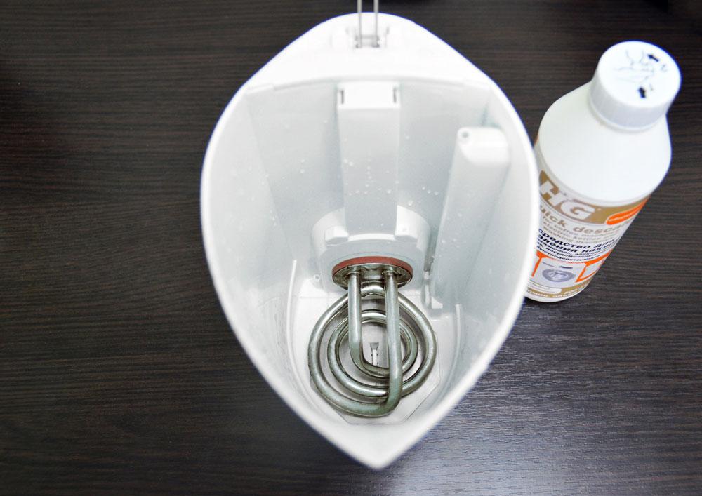 Средства для удаления накипи в электрочайнике