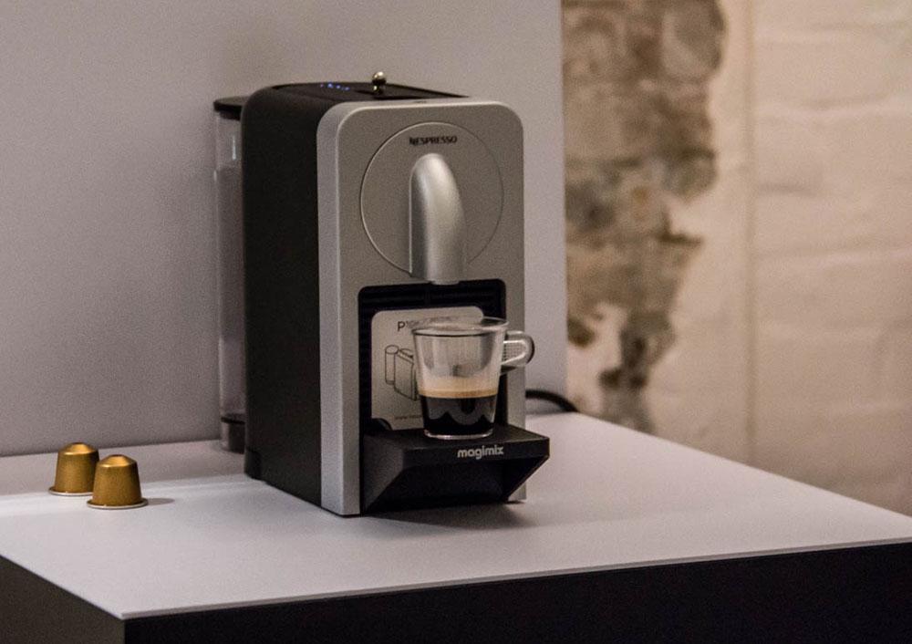 Солевые отложения в кофемашине