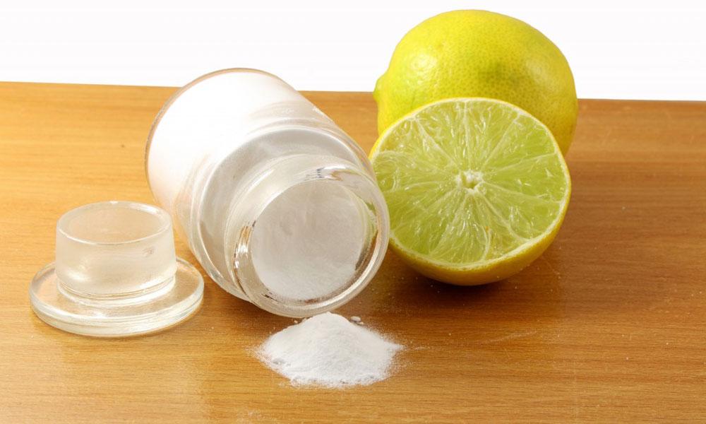 Сода и лимонный сок